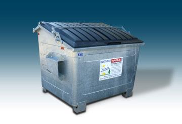 Frontladebehälter 3 cbm